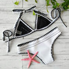 Neoprene Knitted Bikini Set 1