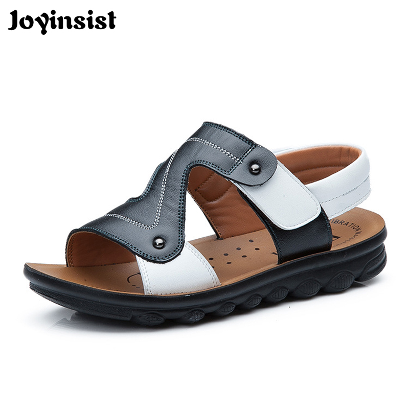 2018 summer shoes new children's shoes boys sandals general leather sandals sandals general managers