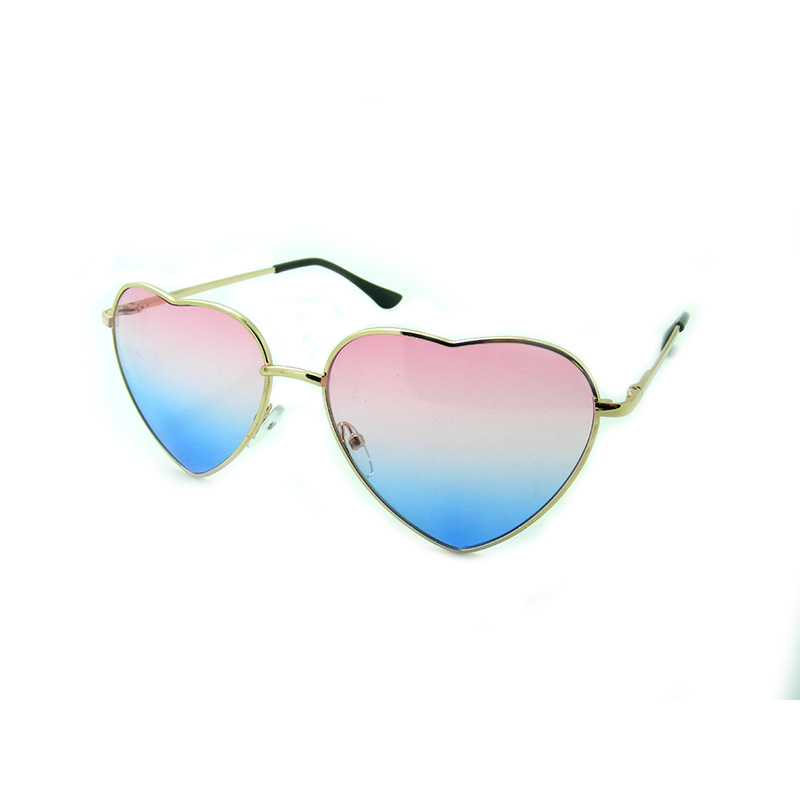 eea8520108 Fashion Heart shaped Sunglasses for Girl Retro Metal Frame Pink Mirror  Sunglasses Women Vintage Sun Glasses Eyewear  84059-in Sunglasses from  Apparel ...