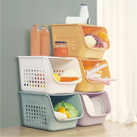 Creative Multi Layer Superimposed Storage Baskets Fruit And Vegetable Baskets Table Toy Basket Home Kitchen Storage Organization