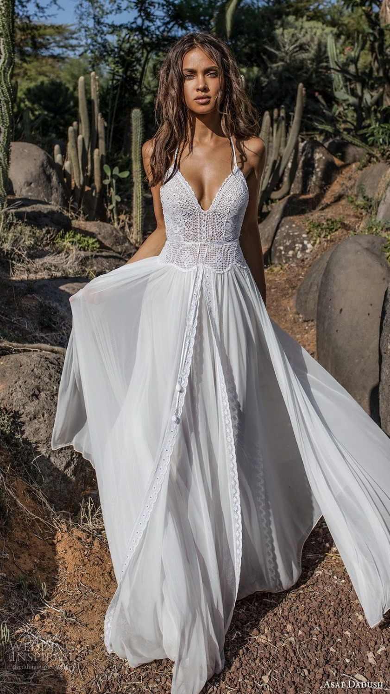 Open Back Wedding Dress Sweetheart neckline Long Sleeve