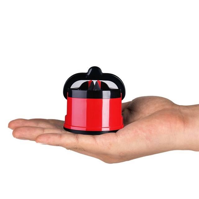 Knife Sharpener Sharpening Tool with Suction Easy and Safe 4