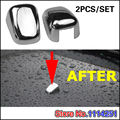 Free Shipping ABS Chrome Body Stying Trims 2pcs/set For Jeep Grand Cherokee 2011 2012 2013 2014