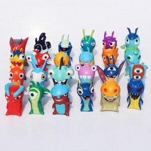 Image 2 - 24 יח\סט חמוד קריקטורה Slugterra PVC פעולה איור צעצועי Juguetes מתנה לילדים