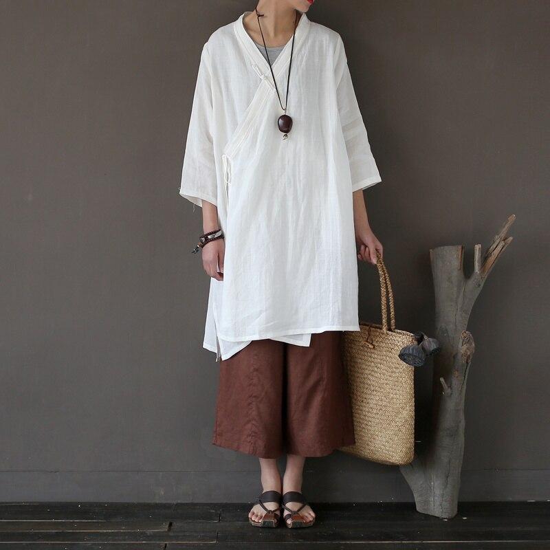 2017 nouveau Original été Kimono Cardigan femmes décontracté solide blanc rouge longue chemise femme Blusas linge grande taille Tunique japonaise