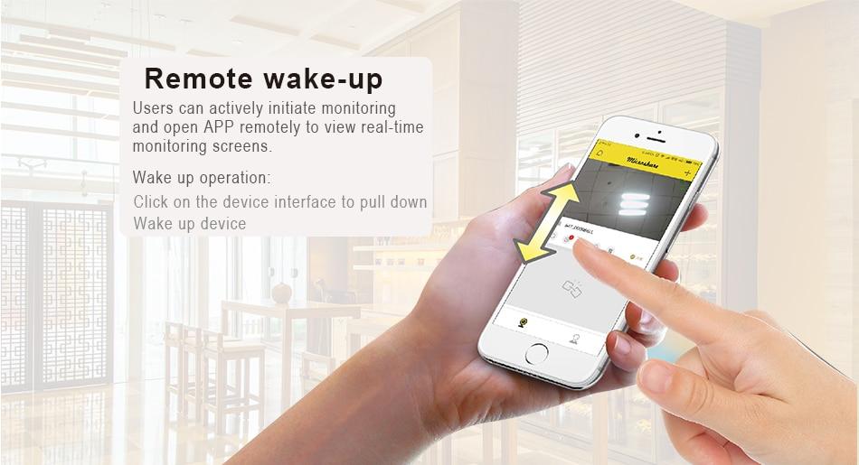 Smar გარე წყალგაუმტარი დაცვა მზის კამერა 1080P Wifi უსადენო IP კამერა მობილური ტელეფონი დისტანციური მართვის ჩამონტაჟებული 7650mA აკუმულატორი (8)