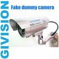 mini fake dummy security cctv cameras red ir led flashing Emulational Surveillance Decoy fake camera dummy cam
