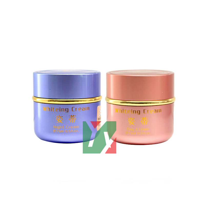 wholesale Zidi second generation whitening day+night cream anti freckle face cream new package taiwan mei yan san bao 3 2 whitening cream for face skin care second generation
