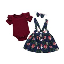 Baby Girl Clothes Sets Floral Print Outfits