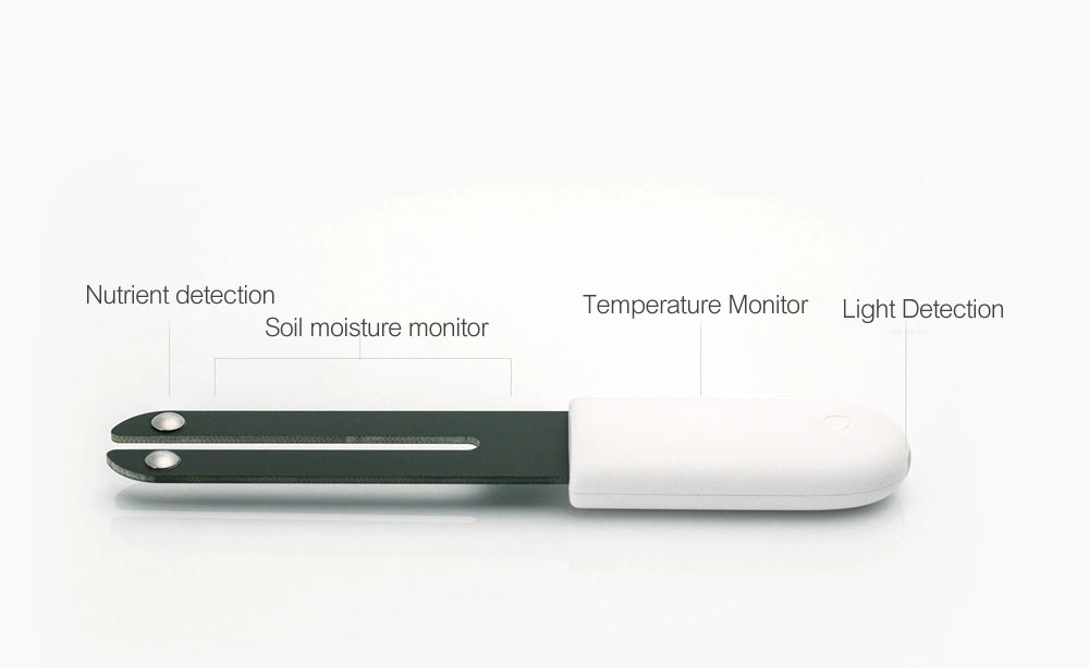 Original Xiaomi Mi Flora Monitor Flowers Grass Care Soil Water Light Smart Tester Digital Sensor For Garden Plant  (3)