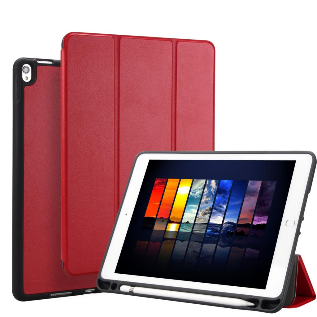 For iPad Pro 10.5 Case PU Leather Slim Smart Cover With Pencil Holder Auto Sleep/Wake up For Apple iPad Pro 10. 5 inch 2017 New arrival selling ultra thin super slim sleeve pouch cover microfiber leather tablet sleeve case for ipad pro 10 5 inch