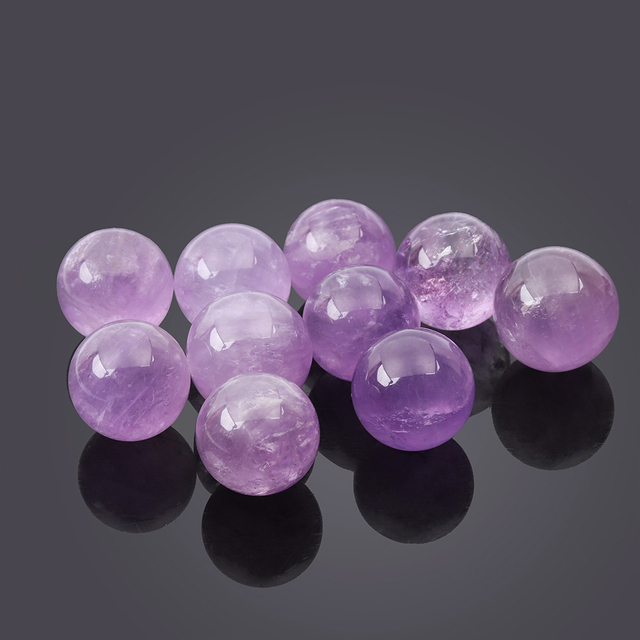 Decorative Purple Crystal Sphere