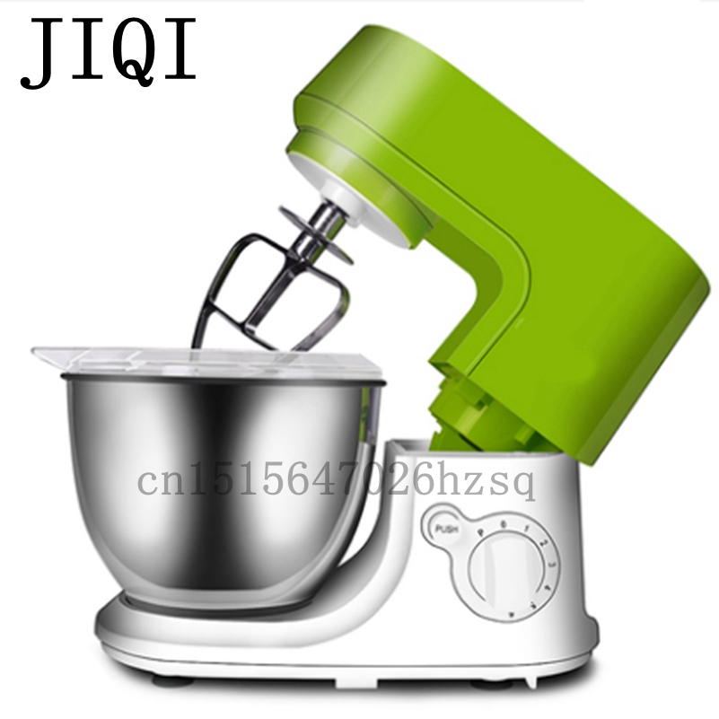 JIQI multifunctional Food Mixers electric Stand mixer home kitchen cooker dough cake egg mixer ,550W