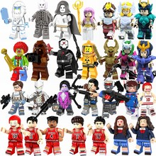 Legoing Movie characters Saint Seiya OW Game SLAM DUNK figures Athena Hyoga Model Building Blocks Toys for Children Legoing TOYS(China)