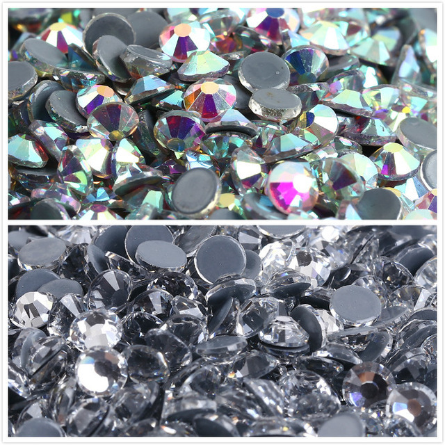 ss3,ss4,ss6,ss8,ss10,ss16,ss20,ss30,ss40 AAAAA Quality Crystal AB DMC Flatback Crystals Hot Fix Rhinestones,Garment Rhinestones