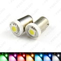2Pcs DC12V Car BA9S T4W 1895 5050 1SMD 1LED Lamp Car LED Light Bulbs Reading Light 7-Color #FD-4808