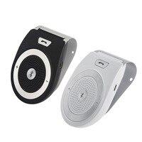 2018 High Quality Wireless aux BT Car Kit Speaker Speakerphone Handsfree bluetooth Car Kit Manos Iibres Coche