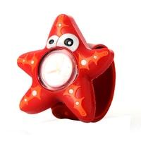 New trendy nice starfish cartoon watches children kid quartz watch sport bendable rubber strap wrist watch.jpg 200x200