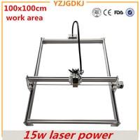 Diy Mini Laser Engraving Machine 15w Laser Cutter Metal Marking Machine Support English Software Work Size