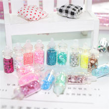 48Pcs Sequins/Glitter Filler Fluffy Slime Box Toys For Children Charms Lizun Slime DIY Kit Accessories Kit Supplies Funny Gift