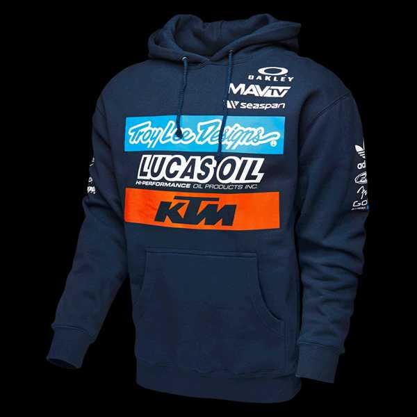 2016 Ktm race automobile outerwear motorcycle 100 cotton casual sweatshirt