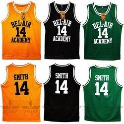 VTURE Basketball T-shirts Will Smith #14 Bel Air Academy Basketball Jerseys