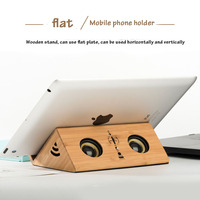 Wireless Mini Bluetooth Speaker Portable Wood Subwoofer Bluetooth 3D Sound System Stereo Music Surround Desktop for Cell Phone