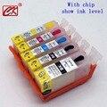 1 conjunto com tinta diretamente cartucho de tinta recarregáveis para canon pgi425 cli426 para pgi425 cli426 Para PG 425 PIXMA MG5140 5240 IP 4840
