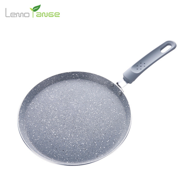 Frying Pan Lemorange Non Stick Egg Crepe Cake Grill Pan Fries Use For  Induction Cooker And Gas Cooker Kitchen Cookware TQQ0099