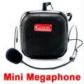 O envio gratuito de Alto-falantes com Microfone de Voz Amplificador Booster Megafone Speaker Para Guia Ensino Posto de Promoção de Vendas