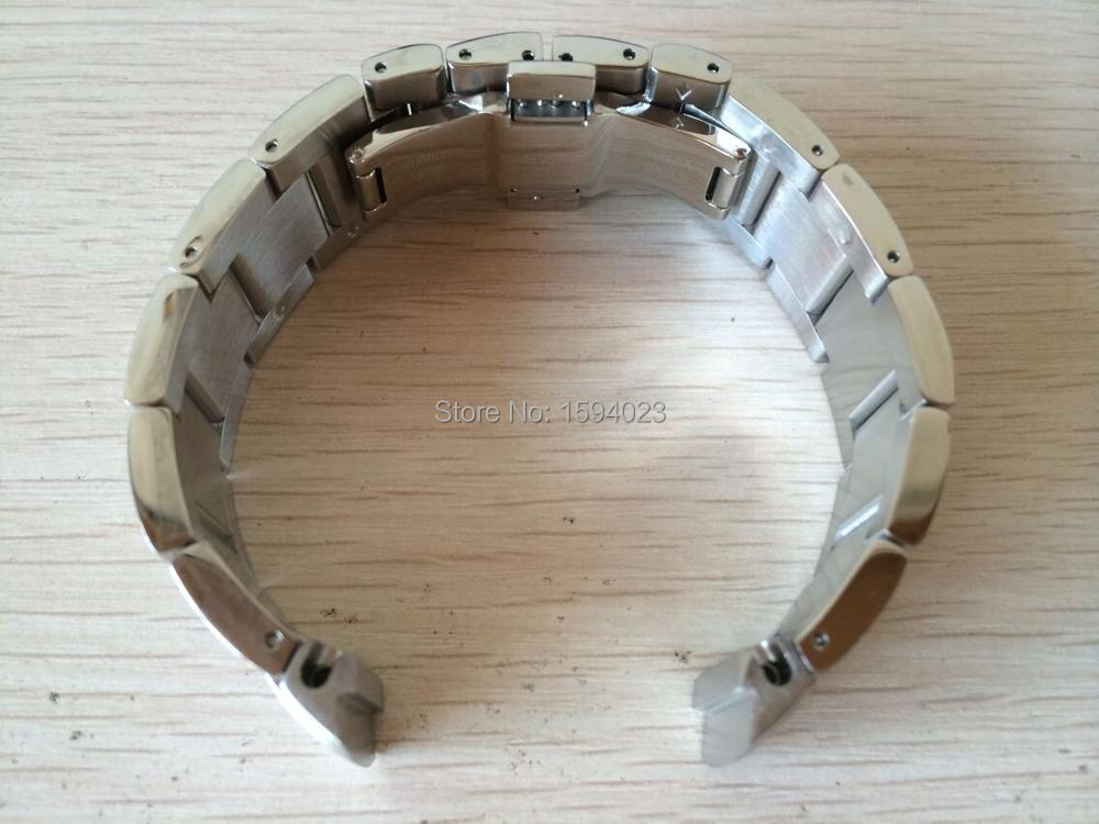 Купить с кэшбэком 20mm (Buckle 20mm)  T044430A Watch Band T-SPORT  series PRS516 Stainless Steel band T044417