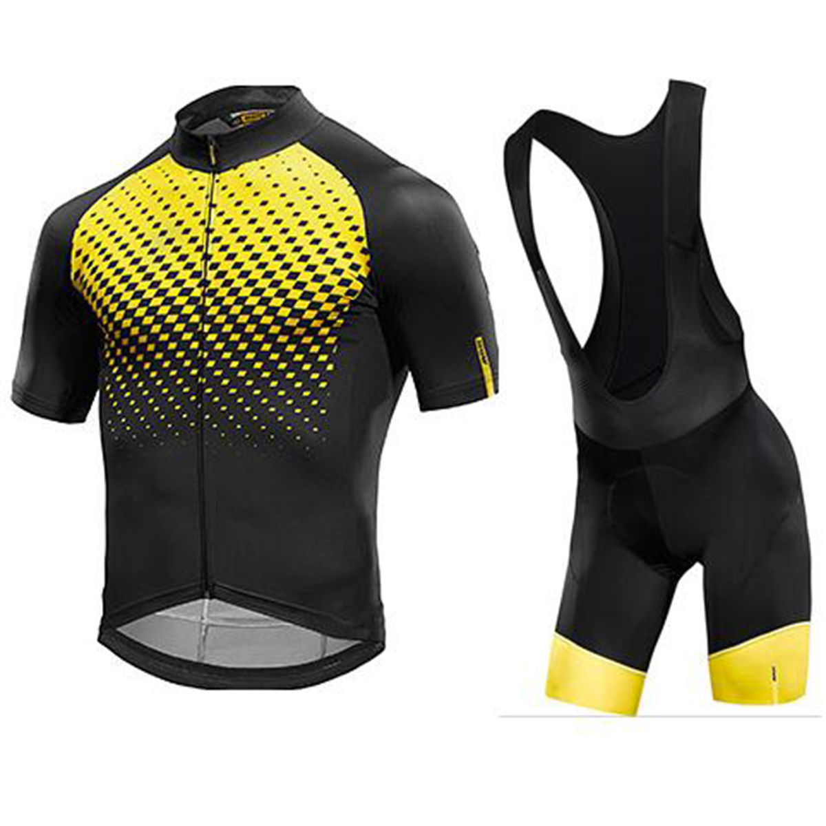 2018 Quick Dry Mavic Bicycle Bike MTB Jacket Cycling Short sleeve Jerseys Clothing/Clothes Pants Bib Sportswear Roupa Ciclismo