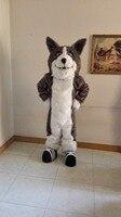 mascot wild wolf mascot costume custom cartoon character carnival costume fancy dress