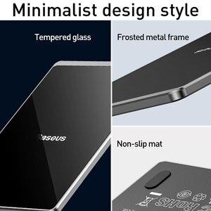 Image 4 - Baseus ultra cienka bezprzewodowa ładowarka do iPhone Xs Max XR 8 przenośna 15W szybka bezprzewodowa ładowarka do Huawei Mate 20 Pro P30 Pro
