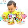 Calidad Bebé Niñas Juguetes Educativos Montessori Rompecabezas De Madera Para Niños Kids Boy Juego De Madera Juguetes Educativos Regalos de Cumpleaños