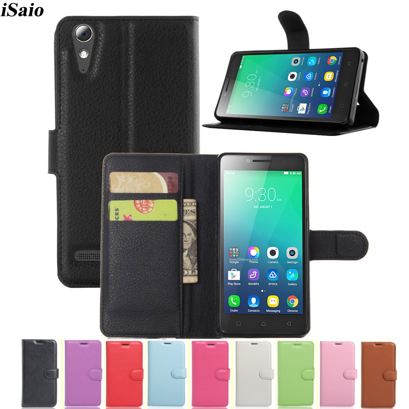 Wallet Case for Lenovo A6010 / A6000 Plus Flip Leather Cover for Lenovo A6000 Plus A <font><b>6010</b></font> Phone Case TPU Shell with Card Holders image
