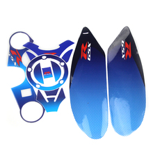 Motorcycle Tank Pad Decal Protector For GSXR600 750 1000 GW250 DL650  Dirt bike /Scooter