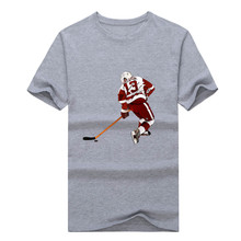 2017 Pavel Datsyuk 13 shirts 100% cotton short sleeve  T-shirt 1026-2
