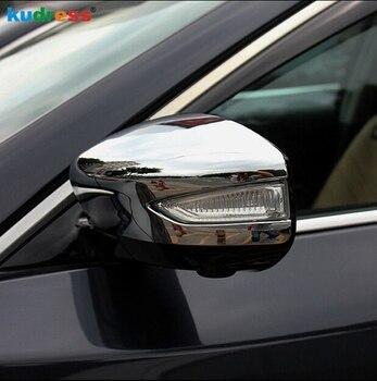 日産ティアナ 2013 2014 2015 ABS サイドミラーバックミラーカバートリム車のリアビューミラーキャップ装飾プロテクター