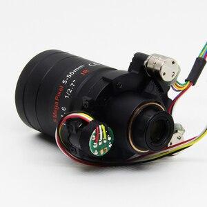 Image 3 - Lente Varifocal con Motor de 5 megapíxeles, D14 DC IRIS de 5 50mm, Visión de larga distancia con Zoom motorizado y enfoque para cámara 1080P/AHD 5MP/IP