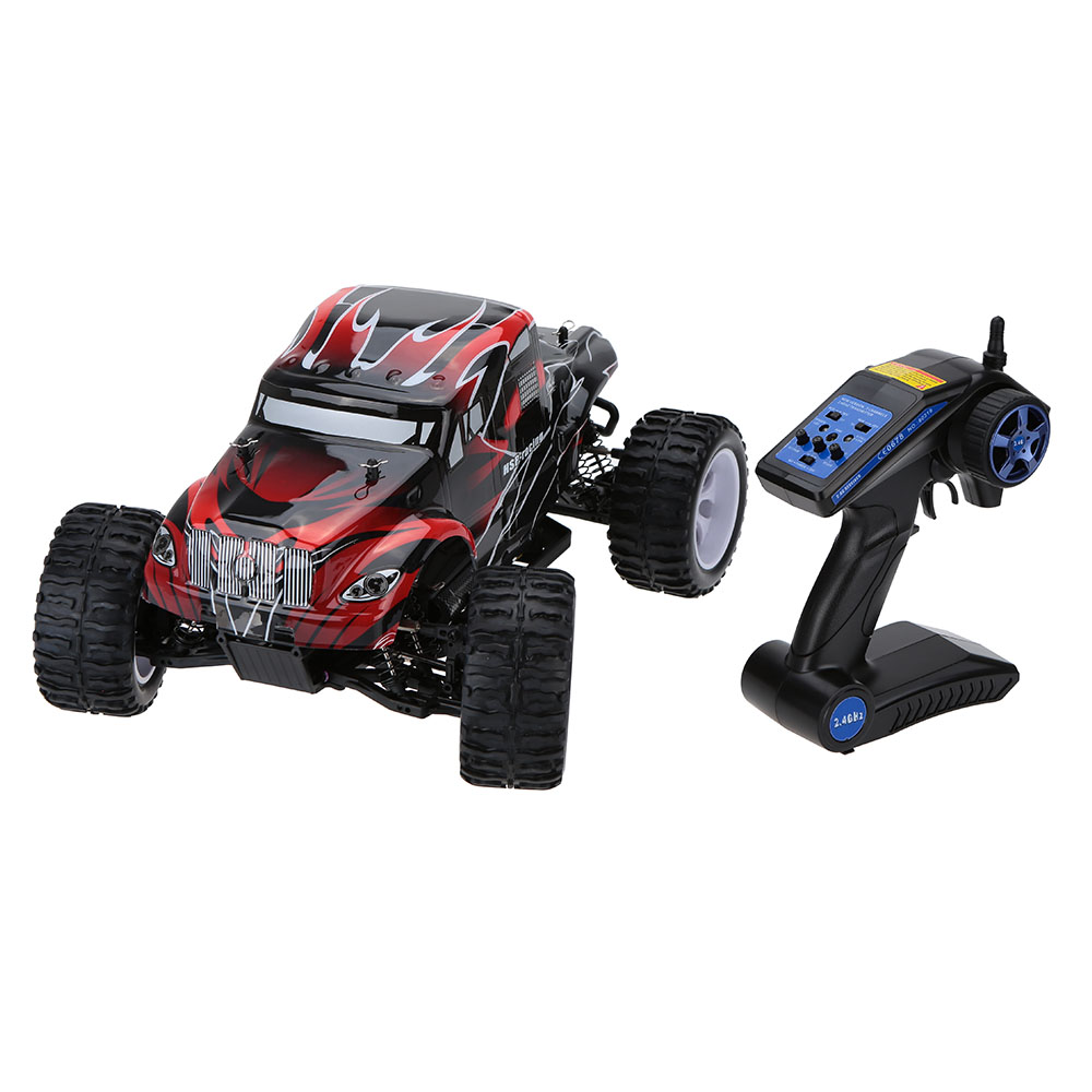 100% Original HSP 94111 1/10 4WD Electronic Powered Brushed Motor RTR RC Truck