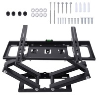 Onleny Telescopic TV Holder Tilt Swivel Television Bracket Double Arms TV Wall Mount Bracket For 26 55 Inch LED LCD Plasma TVs