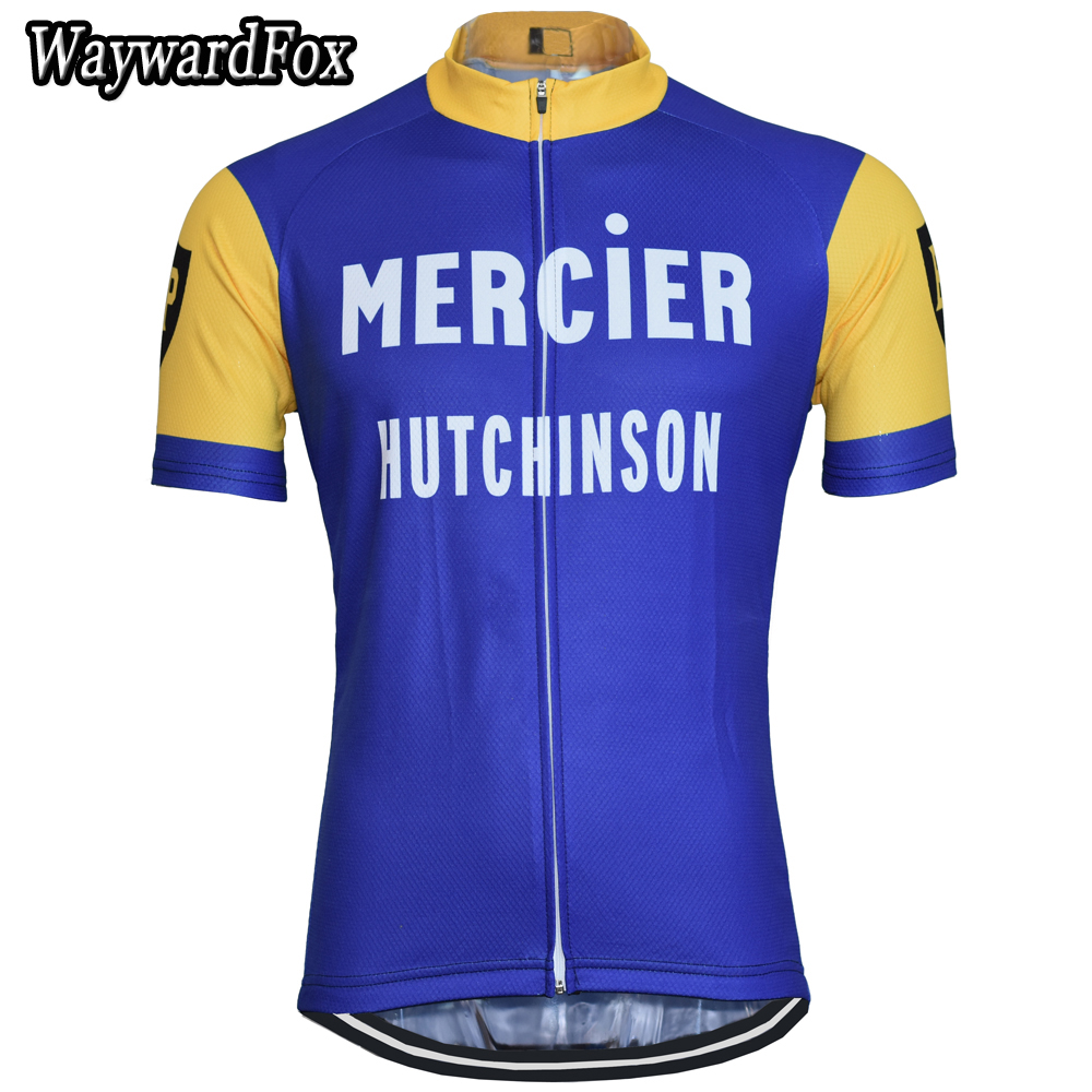 NEW Summer TEAM Men's Retro Classic Cycling Jersey Short Sleeve Breathable Cycling Clothing ROAD Cycling Wear Quick Dry