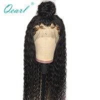 Qearl 360 Синтетические волосы на кружеве al парик 360 все Синтетические волосы на кружеве человеческих волос Парики человеческих вьющиеся волос