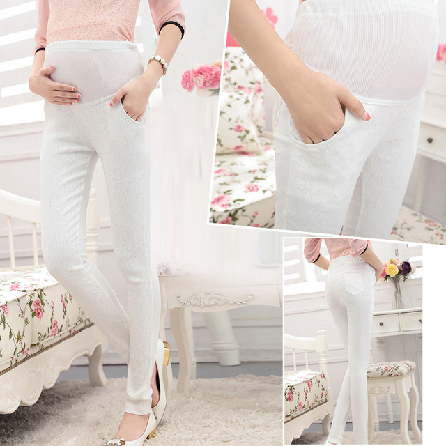 MamaLove High Waist Casual Maternity Pants for Pregnant Women Maternity Clothes for Pregnancy Pants Maternity Clothing
