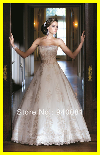 Flowy Wedding Dresses Ball Gown Dress Short Lace Courthouse Mother ...