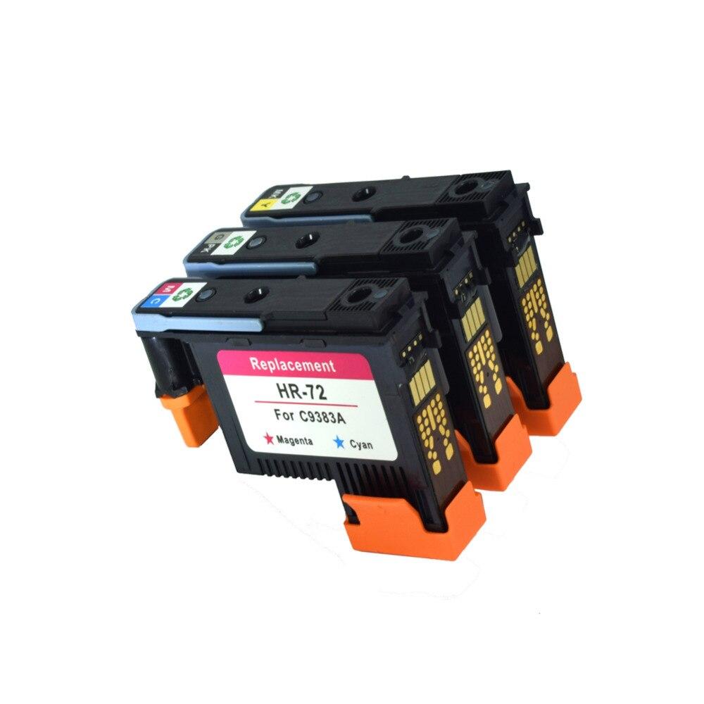 CK 3 Pieces/lot C9380A C9383A C9384A 72 Printhead Compatible for HP72 Design jet T1100 T1100ps T1100 MFP T610 (M/C G/PB MBK/Y) raheja dev g design for reliability isbn 9781118309995