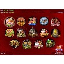 Игровая доска для казино(40-96%) Красная азартная аркадная игра PCB XXL 14 в 1 мульти игровая доска для игр с монетоприемником аркадная машина