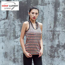 CODY LUNDIN Women Running Vest Gym Sports Vest Lady Tank Tops Body building Fitness Shirt Yoga tights girls sportwear