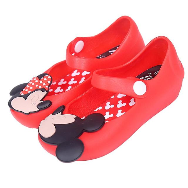 Mini Melissa Shoes 2017 Summer girls Sandals Cute Girls shoes Children Mitch Baby Shoes For Girl shoes size EU24-29 mini melissa